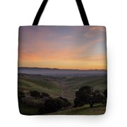 Winter Haze Tote Bag