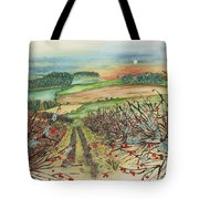 Winter Hedgerow Tote Bag