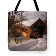 Winter Henniker Tote Bag