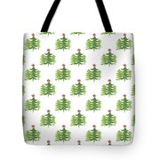 Winter Holiday Trees 2- Art By Linda Woods Tote Bag