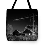 Winter Homes The Crane And The Great Plough Tote Bag