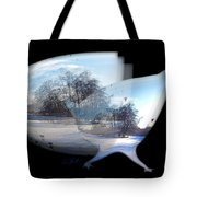 Winter Ice Tote Bag