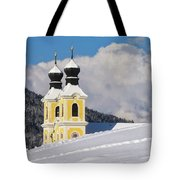 Winter Illusion Tote Bag