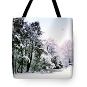 Winter Impressions Tote Bag