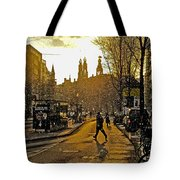 Winter In Amsterdam-1 Tote Bag