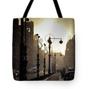 Winter In Amsterdam-2 Tote Bag