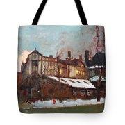 Winter In Buffalo Tote Bag