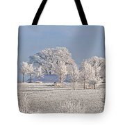 Winter In Canada Tote Bag