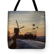 Winter In Holland-1 Tote Bag