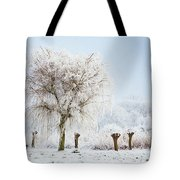 Winter In Holland Tote Bag