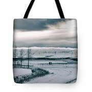 Winter In Iceland Tote Bag