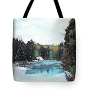 Winter In Kalkaska Tote Bag