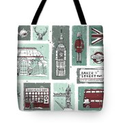 Winter In London Tote Bag