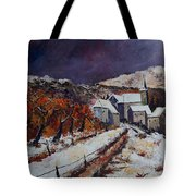 Winter In Luxembourg Tote Bag
