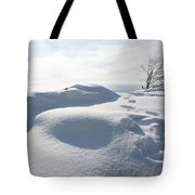 Winter In Marblehead Massachusetts Tote Bag