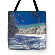 Winter In New England Tote Bag