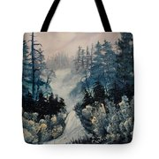 Winter In New Jersey Tote Bag