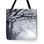 Winter In Our Street Tote Bag