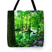Winter In Paradise Tote Bag