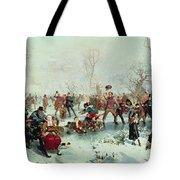 Winter In Saint James's Park Tote Bag