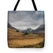 Winter In Snowdonia Tote Bag