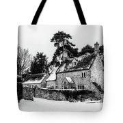 Winter In The Cotswolds Tote Bag