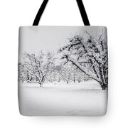 Winter In The Orchard Tote Bag