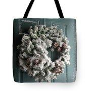 Winter In Va Beach Tote Bag