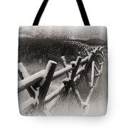 Winter In Wyoming 4 Tote Bag