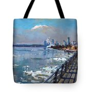 Winter Is Surrendering Its Weapons Tote Bag