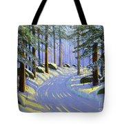 Winter Landscape Study 1 Tote Bag