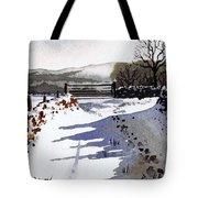 Winter Lane Sowood Tote Bag by Paul Dene Marlor