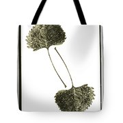 Winter Leaf Tote Bag