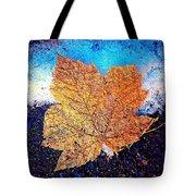 Winter Leaf Tote Bag