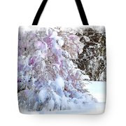 Winter Lilac Tote Bag
