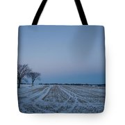 Winter Lines Tote Bag
