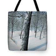 Winter Maple Tote Bag