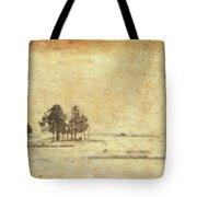 Winter Marsh Tote Bag
