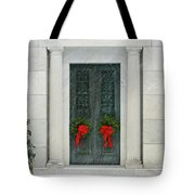 Winter Mausoleum Tote Bag