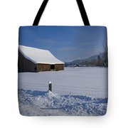 Winter Meadow Tote Bag