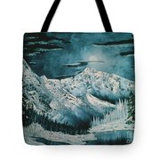 Winter Moon 2 Tote Bag