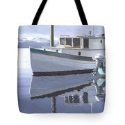 Winter Moorage Tote Bag
