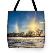Winter Morn In Minnesota Tote Bag