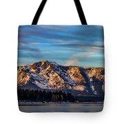 Winter Morning South Lake Tahoe Tote Bag