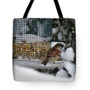 Winter Mornings Tote Bag