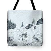 Winter Magic Tote Bag by Pastime Ideas