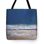 Winter Night Prairie Tote Bag