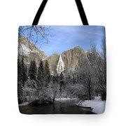 Winter Of Yosemite Tote Bag