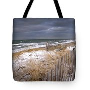 Winter On Cape Cod Tote Bag