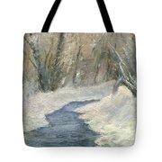 Winter On Stormcreek Tote Bag